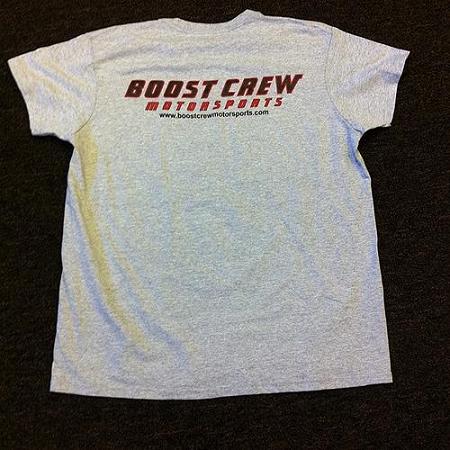 Boost Crew T Shirt Short Sleeve