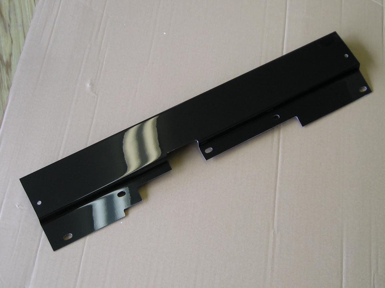 Black Fiberglass Upper Radiator Cover